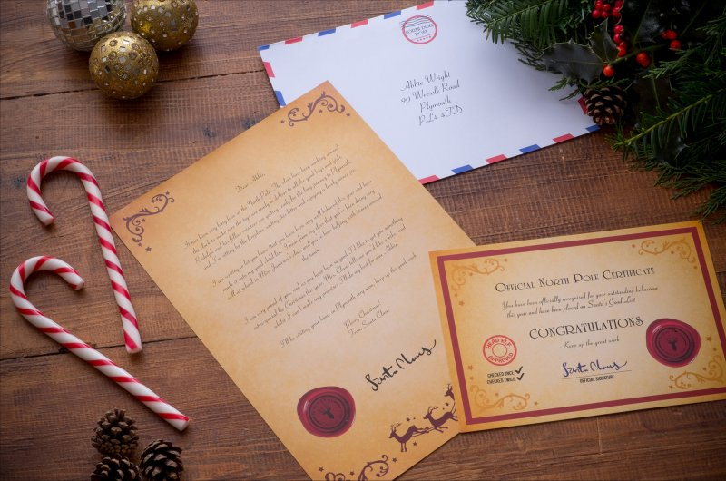 RealSantaLetters personalised letters from Santa