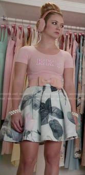 chanel-3-mint-rose-floral-skirt