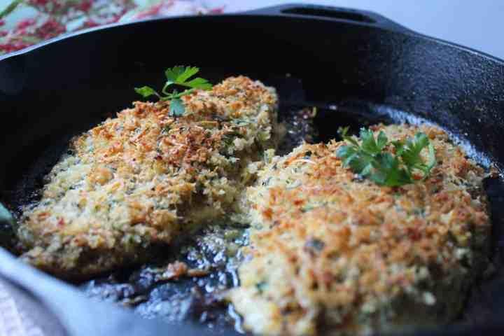 parmesan crusted catfish