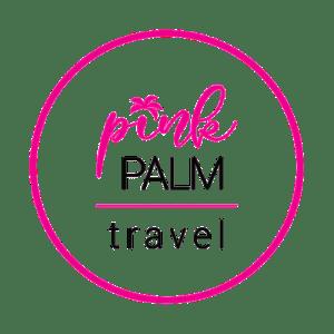 Pink Palm Travel Logo