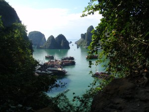 Vietnam, the scene of 'The Jump'! (No, not the skiing program on at the moment! ;) )