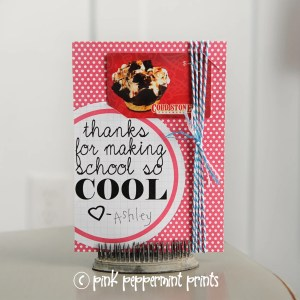 "Free Teacher Appreciation Printables PDF ""Thanks for making school so cool"""