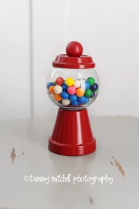 DIY: tutorial: how to make individual gumball machine party favors and party decorations