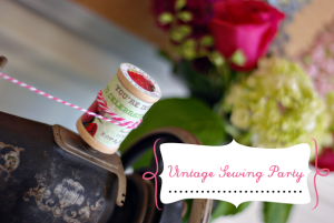 GIRL PARTIES: Vintage Sewing Party by Pure Joy Events