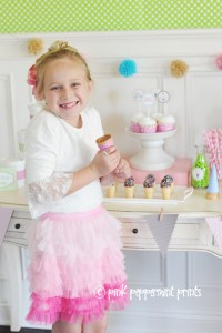 Get the Look:Girl Parties:The Ice Cream Shoppe Party a Sneak Peek