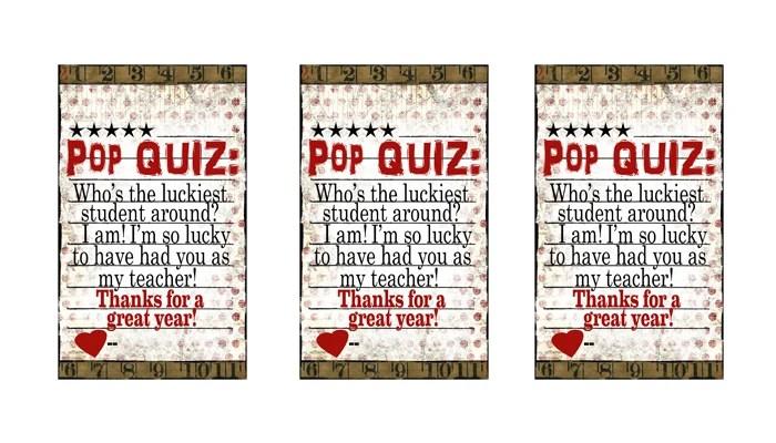 Free Teacher Appreciation Ideas Pink Peppermint Design