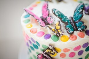 GIRL PARTIES: ART PARTIES: RAINBOW PARTIES: The Rainbow Butterfly Party