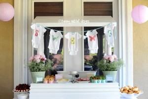 BABY SHOWERS: GIRL PARTIES: The Butterfly Baby Shower