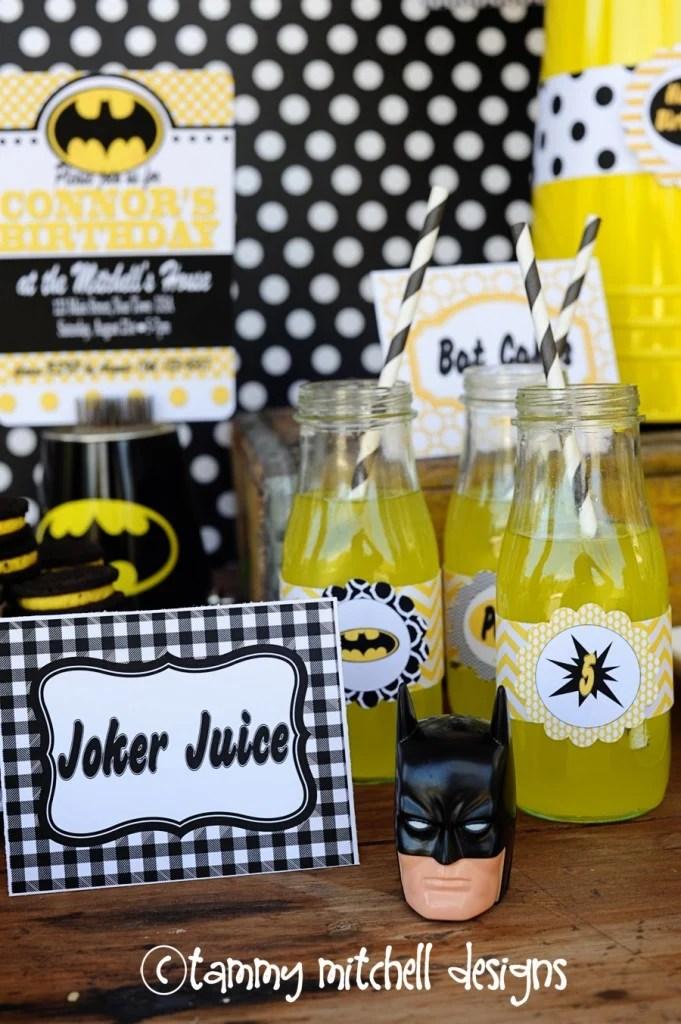 Batman food ideas