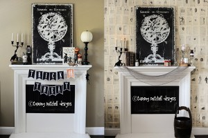 Halloween Parties: DIY Party Decorations: The Halloween Wall Paper