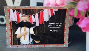 How to Make Adorable 3-D Photo Valentines by Laura Davis of LauraLeAnn Photography