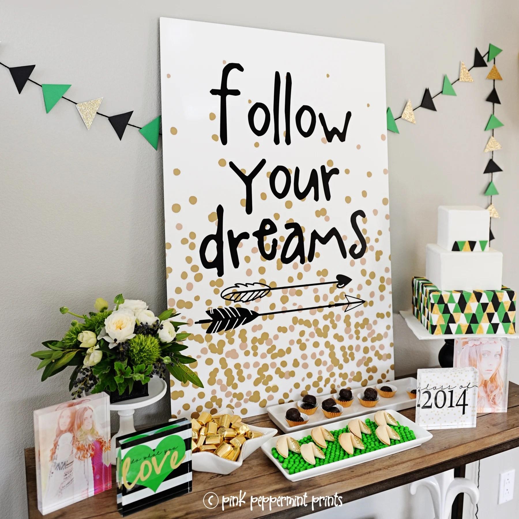 college graduation party ideas