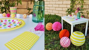 Mother's Day Table Ideas for a Garden Party