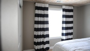 Tween Boy Bedroom Makeover: Drapes and Wall Color