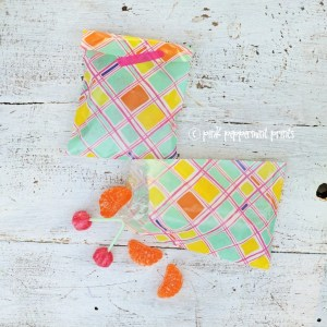 DIY Favor Bags from Oh Joy! Tray Liners (or other cute papers) Free Template
