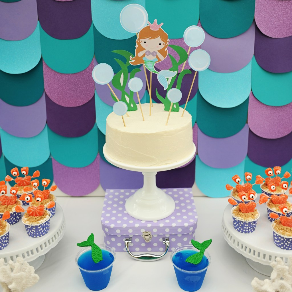 Mermaid Birthday Pool Party Ideas DIY