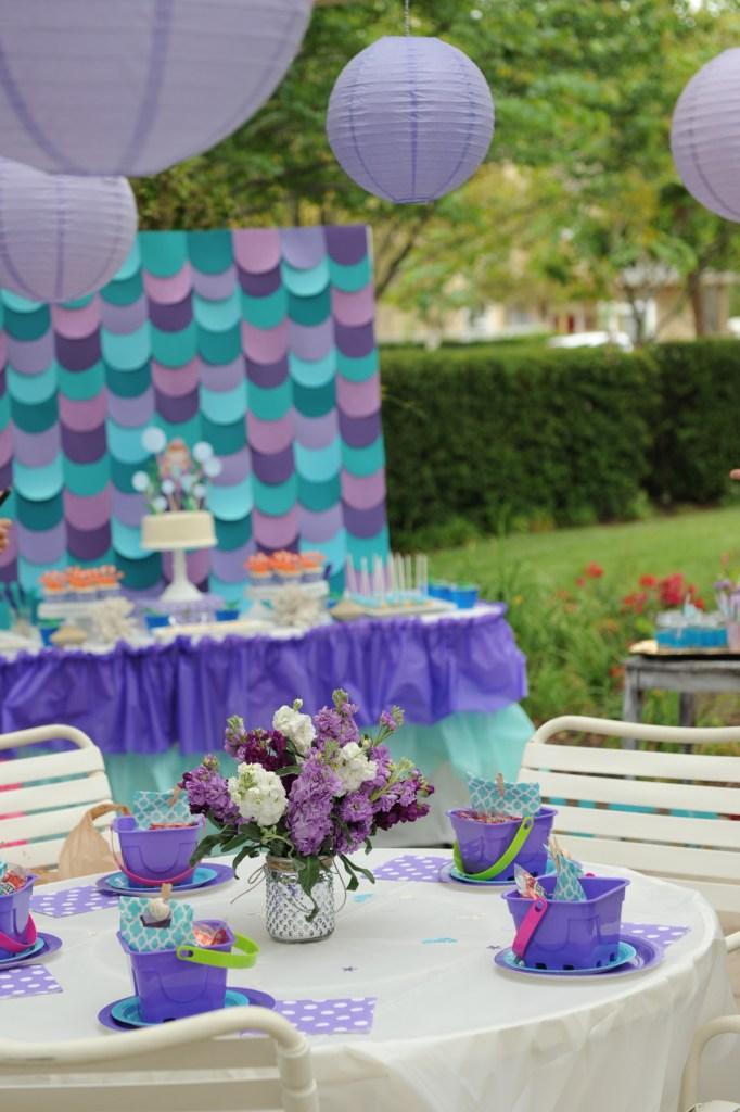 mermaid party ideas diy