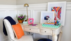 Interior Design: Office Nook Update the Before and After