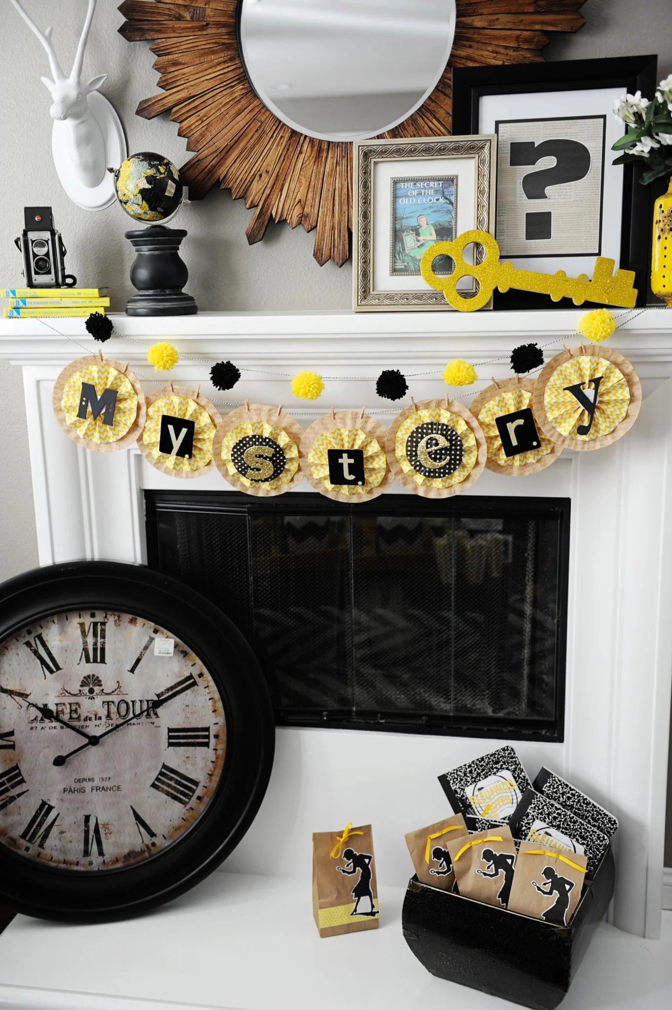 nancy drew party ideas