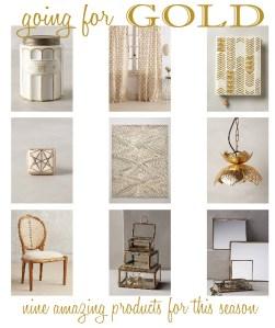 Interior Design: Going for Gold