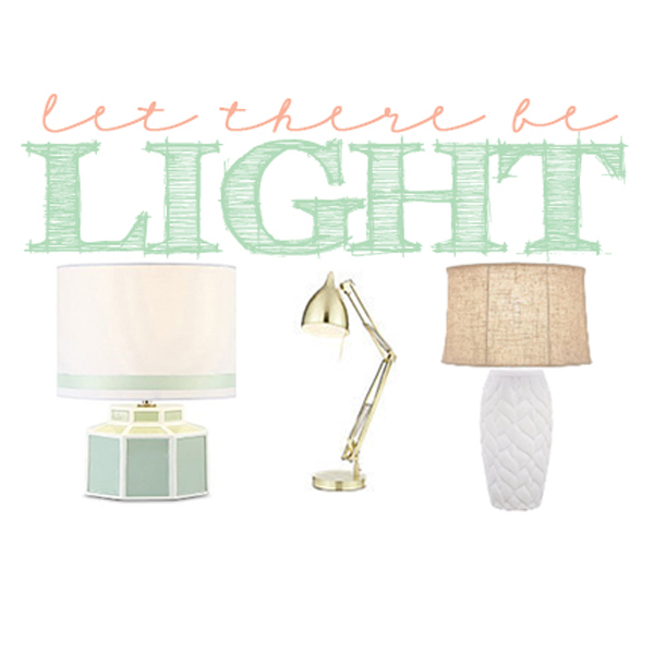 Pink Peppermint's Pick's: Interior Design: Favorite Lamps for Under $100