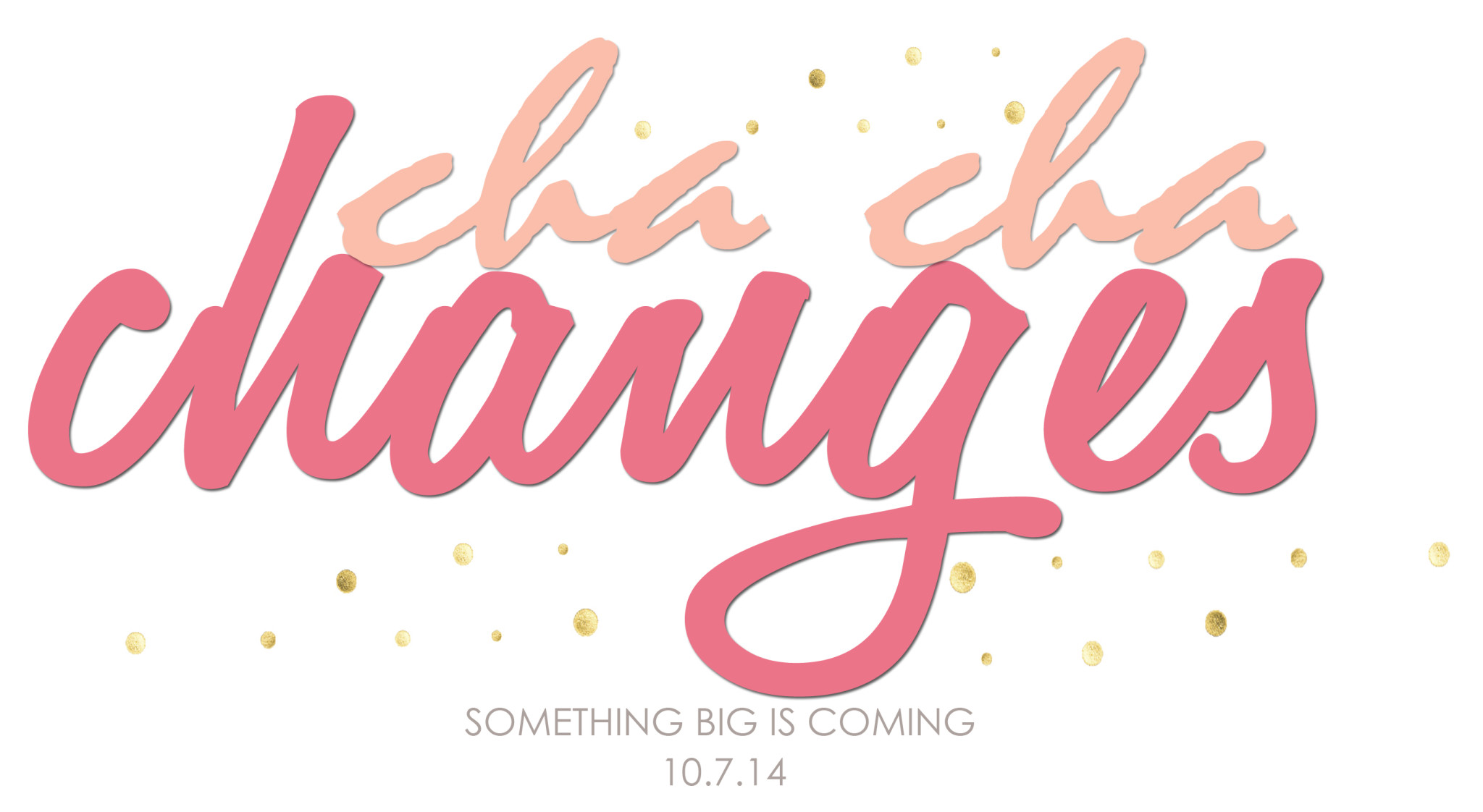 It's coming…Pink Peppermint Design!!!