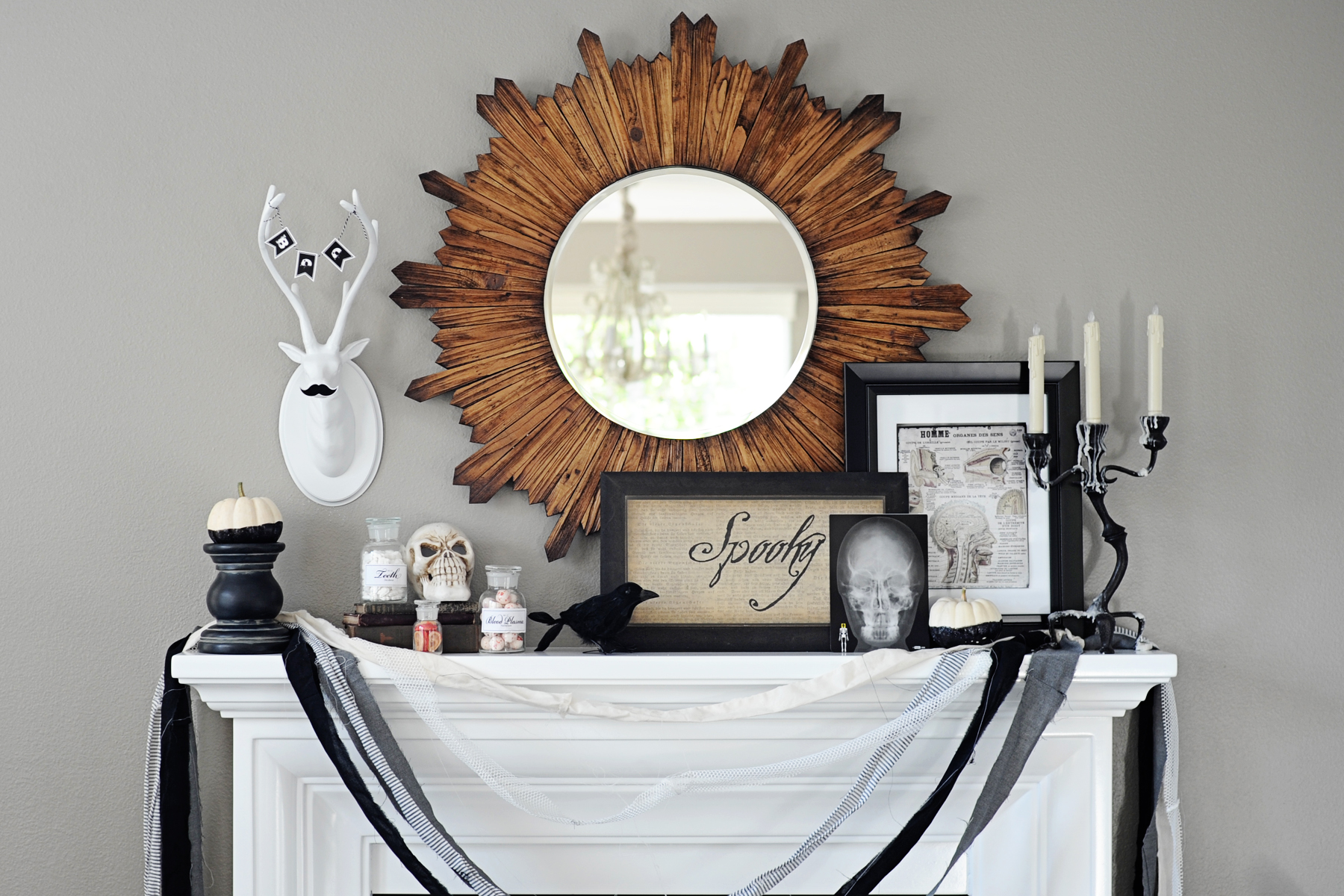 Interior Design: Halloween Home Decor Tour