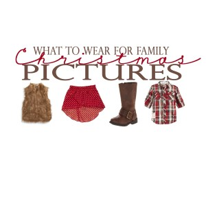 What to Wear: Kid's Christmas Card Picture Outfits