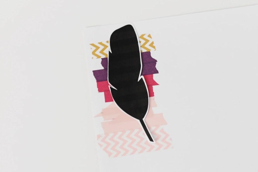 washi feathers 7