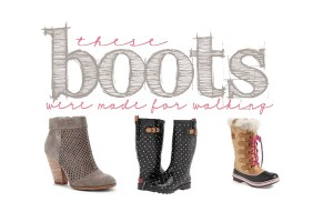 Sunday Style: Pink Peppermint's Picks for Boots this Season