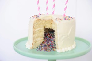 Confetti Cake DIY: Make this Amazing Dessert and Surprise Your Guests