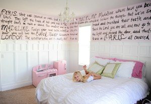 Interior Design: Little Girls Bedroom Full of Whimsy–Do it Yourself!!