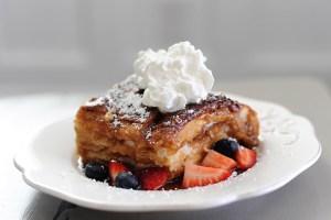 Recipe: Sugar Crusted Carmelized French Toast