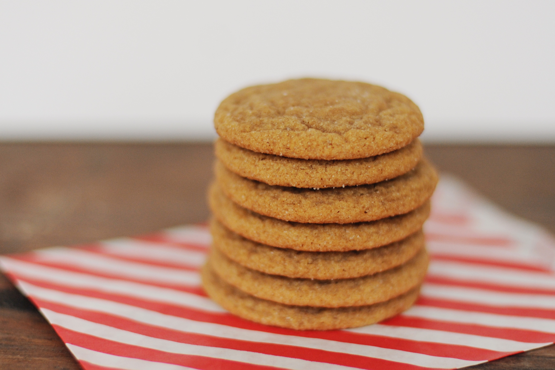 Incredible Ginger Cookie Recipe : Soft and Sweet