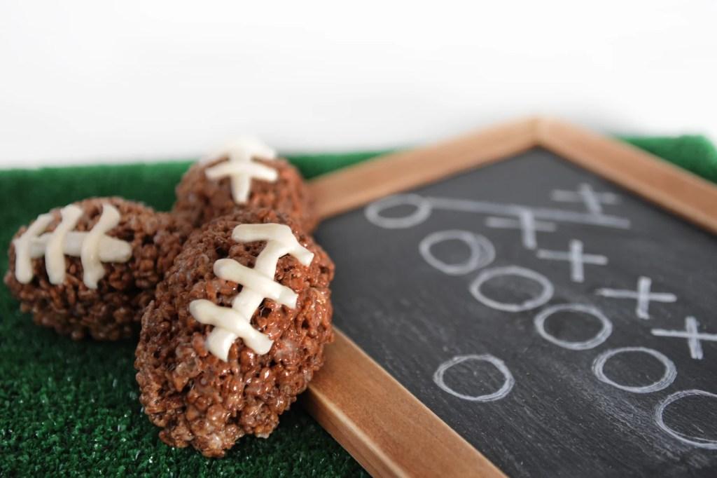 Rice Krispy Footballs by Tammy Mitchell