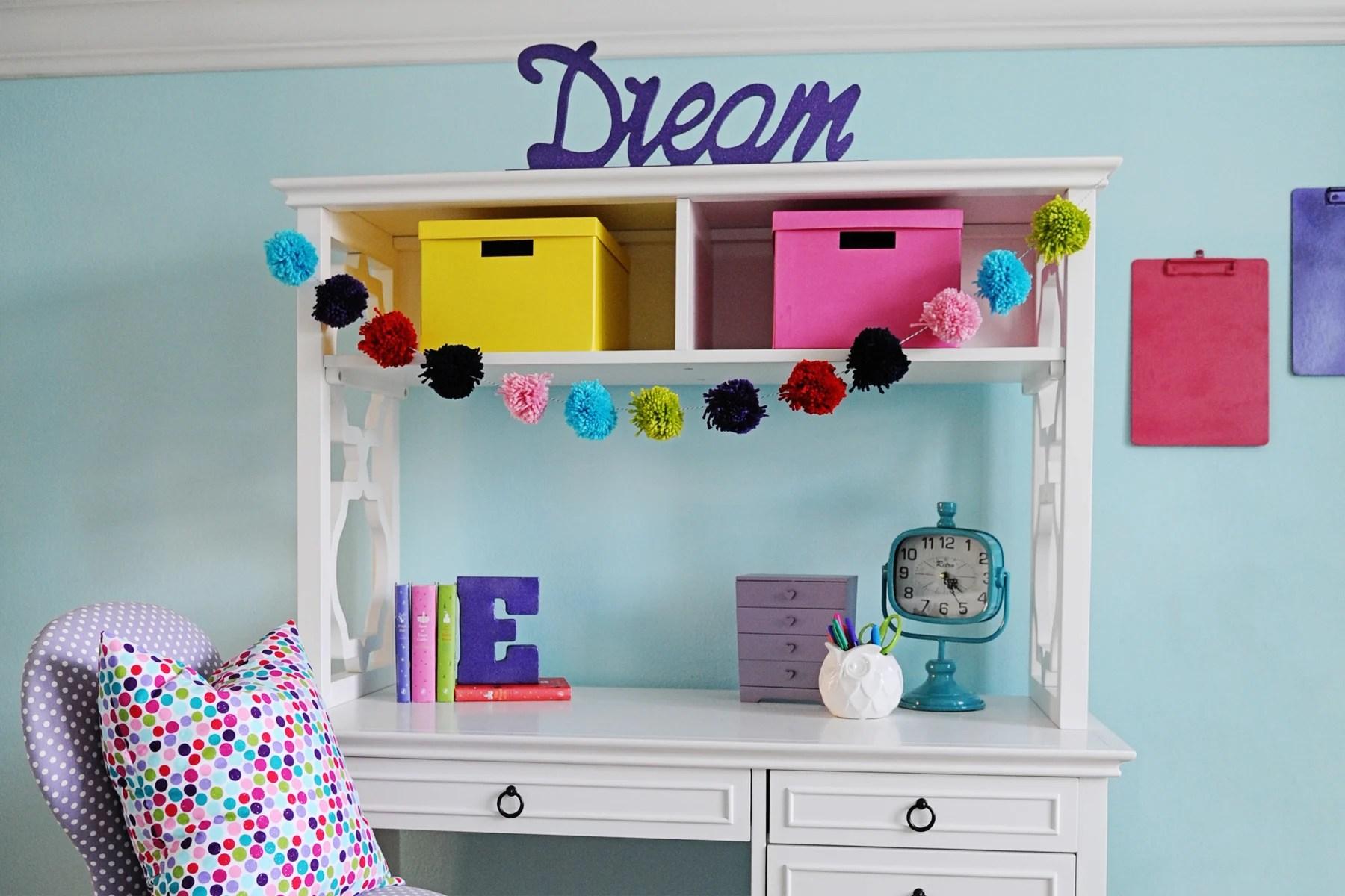 Interior Design: Tween Girl Bedroom Design Purple and Turquoise