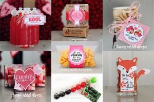 Pink Peppermint Design Free Printable Valentine Round-Up