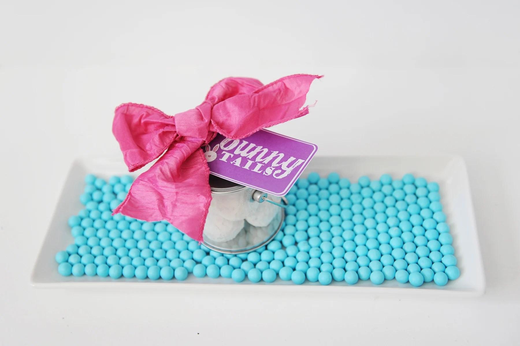 "Donut Holes ""Bunny Tails"" | Easter Bunny Themed Treat Idea by Tammy Mitchell"