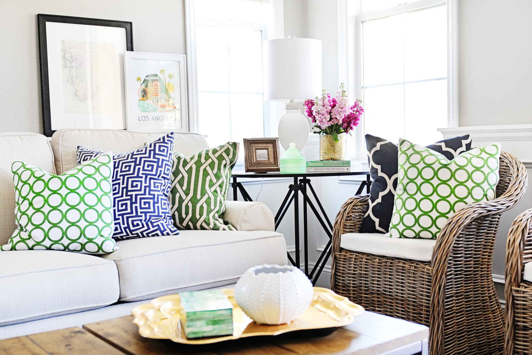 Add Beautiful Green Accessories to Your Design and Celebrate Spring