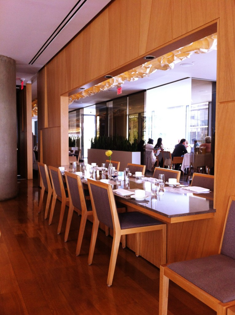 fairmont pacific rim restaurant