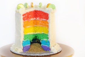 Rainbow cake post header