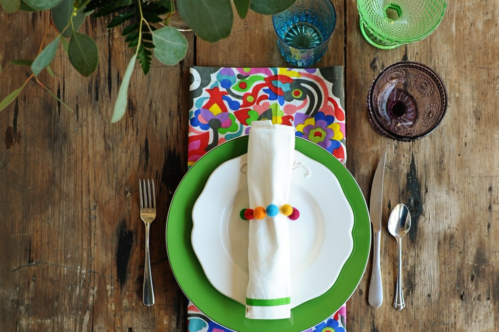 HomeGoods spring table decorating ideas