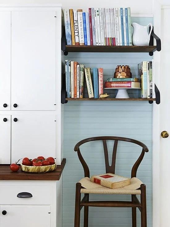 Books in Kitchen Design