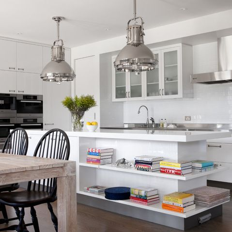 Books in Kitchen Design