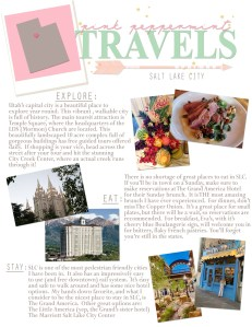 Pink Peppermint Travels: Salt Lake City, UT Travel Guide