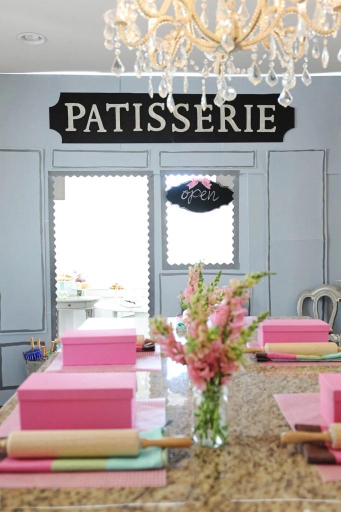 patisserie birthday party