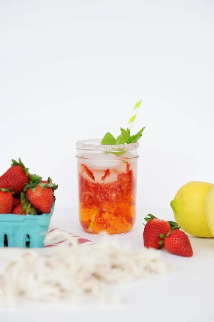 Easy Entertaining Strawberry Lemonade Recipe