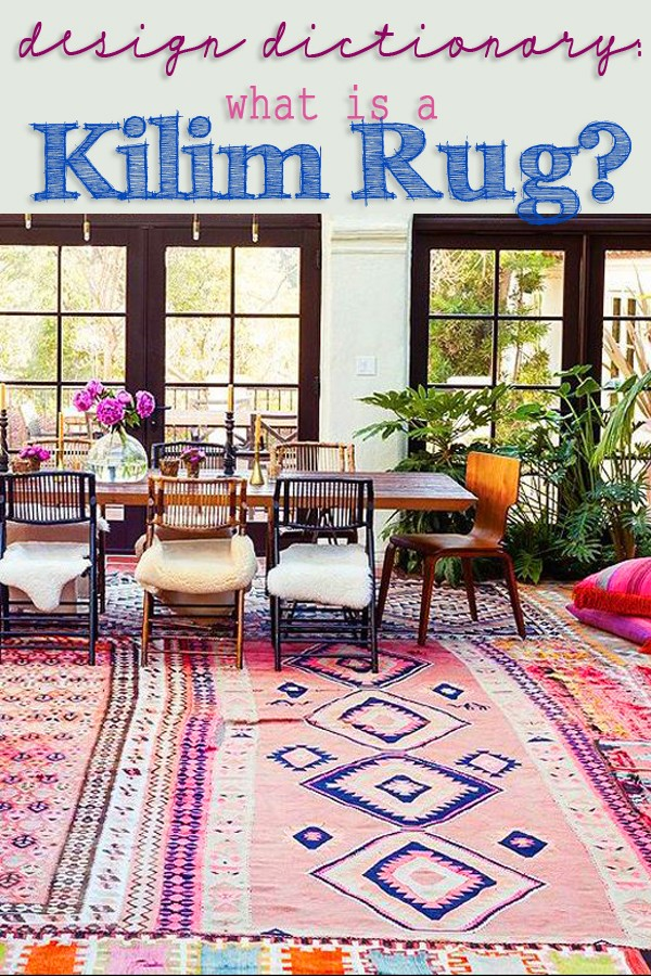 what is a kilim rug