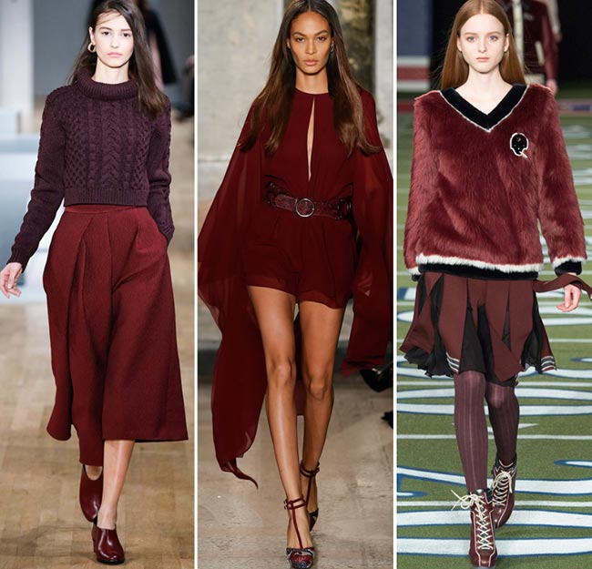 Must have colors for fall fashion
