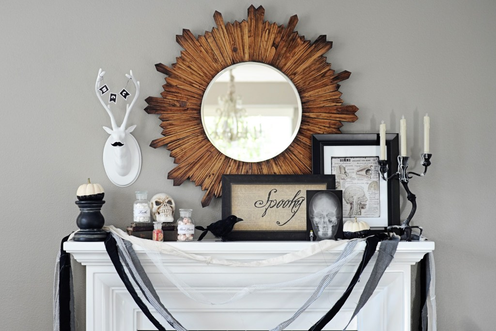 halloween decor home tour